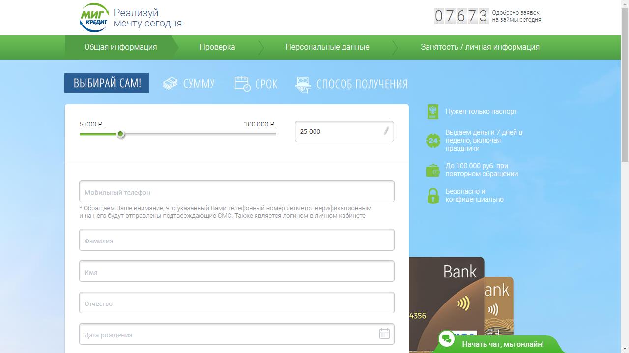 Санкт петербург кредит низкая процентная ставка