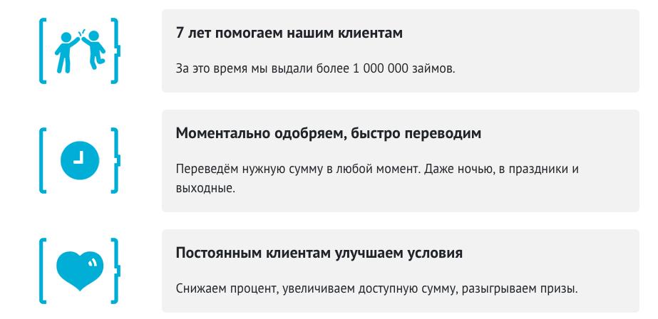 СМС Финанс займ