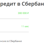 Кредитный калькулятор – Сбербанк