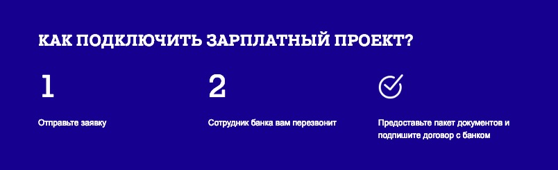 Зарплатный проект Почта Банк открыть