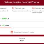 Микроклад займы онлайн: личный кабинет microklad.ru, онлайн заявка