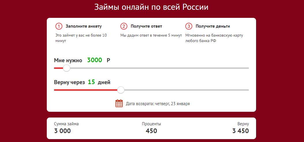 Алмазкредитсервис онлайн заявка на кредит